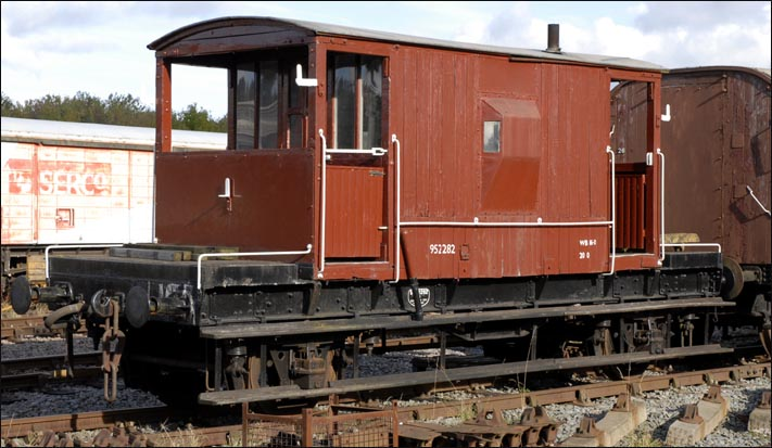20T Goods brake van 952282 at Ruddington