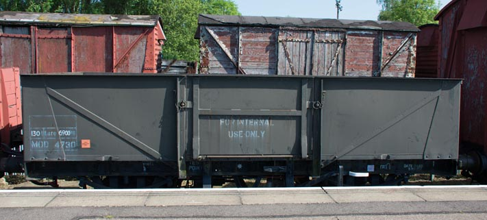 MOD no.4730 steel open wagon